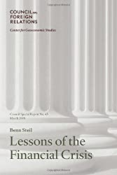 Lessons of the Financial Crisis (Council on Foreign Relations (Council on Foreign Relations Press))