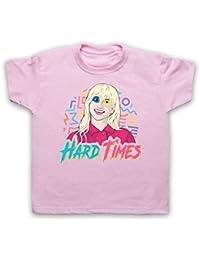 Paramore Hard Times Camiseta para Niños