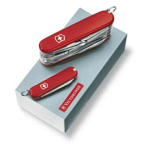 Victorinox Taschenmesser-Geschenkset Duo rot 1.8802