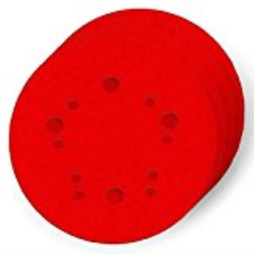 Diablo DCD050060H04G 5 in. 60-Grit Universal Hole Random Orbital Sanding Disc with Hook and Lock Backing (4-Pack) by Freud -