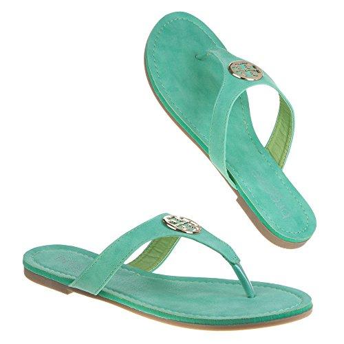 Ital-Design - Chiusura a T Donna Verde (verde)