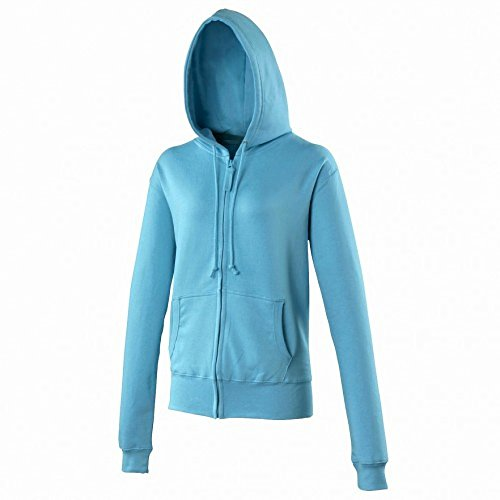 Awdis - Sweatshirt à capuche et fermeture Éclair - Femme Violet - Violet