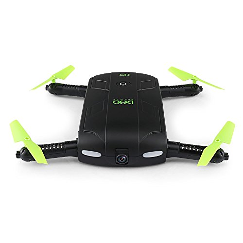Goolsky D5 Wifi FPV 480P Camera pieghevole Selfie Drone 6-Axis Gyro Altitudine Hold Tramonto RC Quadcopter
