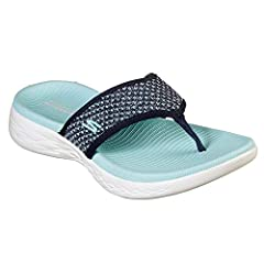 df4c77fef6dc Skechers On The Go 600 Womens Toe Post Sandals