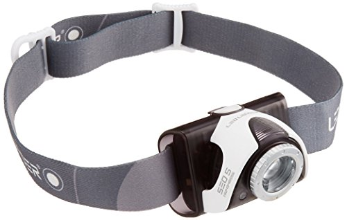 41Qmsl72b%2BL - Ledlenser 6105 SEO5 Head Torch 180 Lumens with rapid focus for spot to flood beam - Black
