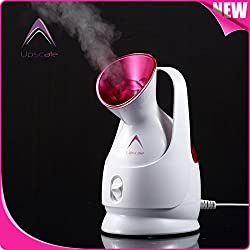 Upscale Premium Nano Ionic Warm Mist Facial Steamer For Deep Cleansing, Lightening, Moisturizing And Nourishing The Skin