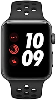 Apple Watch Nike+ Series 3 GPS + Cellular, 38mm Space Grey Aluminium Case with Anthracite/Black Nike Sport Ban