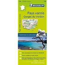 Pays varois, gorges du Verdon : 1/100 000