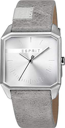 Esprit Reloj Analógico para Hombre de Cuarzo con Correa en Cuero ES1G071L0015