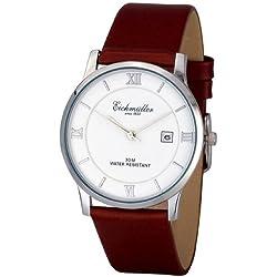 Braune Eichmüller Uhr 3Atm Unisex Damen Uhr Herrenuhr flach mit Datum Boxed