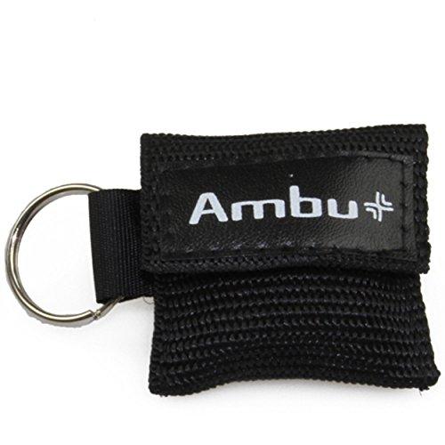 """AMBU """"LifeKey"""" Schlüsselanhänger Beatmungstuch > Farbauswahl möglich"""