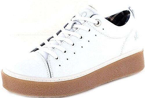Autowaschanlagen Sneaker Damen Weiß White Soliver 23615 DW2EIYeH9