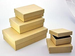 Playbox - Cajas (rectangulares) - 7-17cm - 5 Piezas - (PBX2470764)