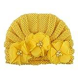 TwoCC-Cappello lavorato a maglia, set di accessori per capelli in lana per bambini, set cappello e cappello Autunno e Inverno, cappello in lana tinta unita Europa e America