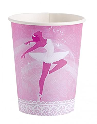 Prima Ballerina Ballet's Birthday Party Cups Paper Cups
