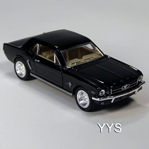ToySmith 1964 Late Model Ford Mustang Die-Cast Car 1:36 Scale-Black