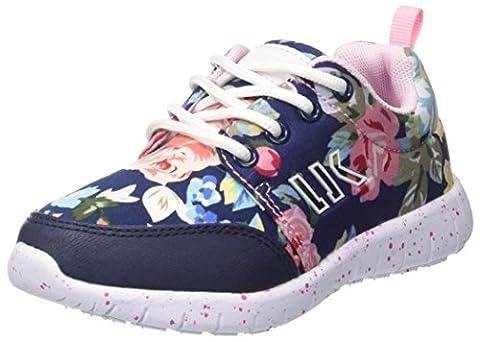Lumberjack Mädchen Mosh Niedrige Sneaker, Multicolore (Blue Flower Multicolor), 31 EU