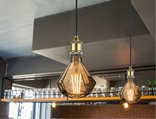 La jolie muse luce pendente lampada a soffitto vintage metallo