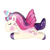 Newin Star Squishy Kawaii,Unicornio Squishy de Dibujos Animados Perfumada Lenta Levantar Exquisito Niño Juguete Suave de Newin Star