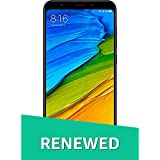 (Renewed) Redmi Note 5 MZB5915IN (Black, 3GB RAM, 32GB Storage)