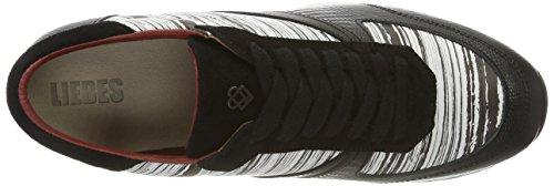 Liebeskind Berlin Ladies Lf173100 Bmono Sneakers Multicolore (bianco Avorio / Nero)