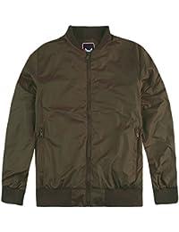 6633777a67b Harrington Bomber Jacket Mens Brave Soul Sanjay Lightweight Summer MA1 Coat