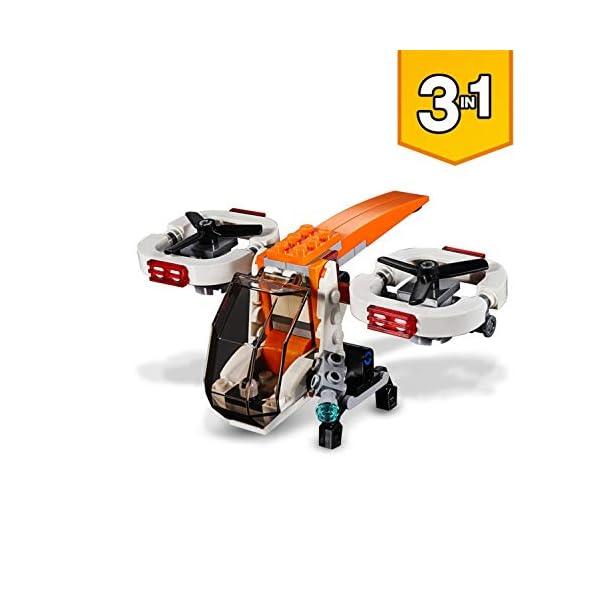 LEGO- Creator Drone Esploratore, Multicolore, 31071 4 spesavip
