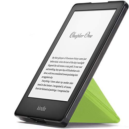 Forefront Cases Smart Hülle für Kindle 2019 | Magnetische Schutzülle Cover Ständer für Amazon Kindle (10. Generation - 2019 Modell) | Origami Design & Auto Schlaf Wach | Elegant Dünn Leicht | Grün Reader Digital Book Cover