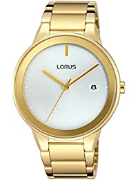 Lorus Watches Herren-Armbanduhr Fashion Analog Quarz Edelstahl beschichtet RS926CX9