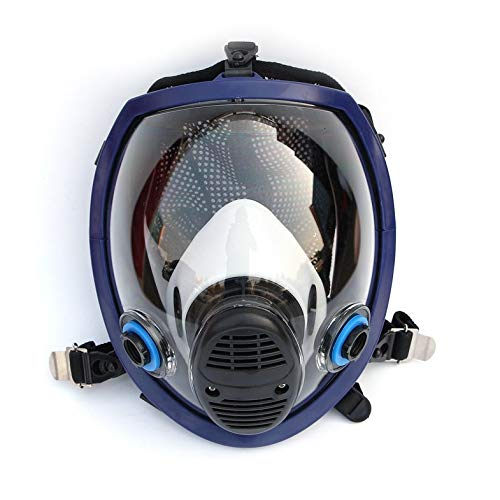 ouying1418 Cara Llena química máscara de la máscara Anti-Gas ácido polvillo máscara de Pintura Filtro