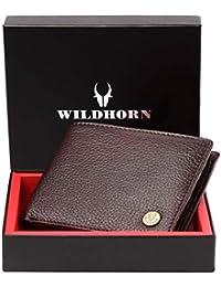 WildHorn New Design Bombay Brown 100% Genuine Men's Leather Wallet