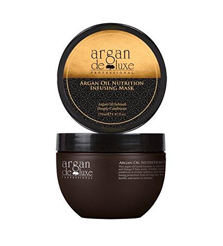 Argan Deluxe Haarmaske in Friseur-Qualität 250 ml
