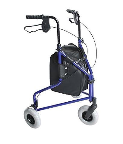 Days 240L Lightweight Aluminium Folding 3 Wheel Tri Walker with