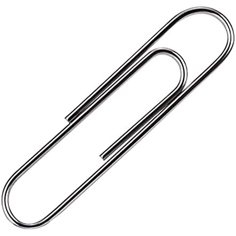 Metal Clips de Papel Portaclips Magnético Papel Liso Clips (200 Paquete)