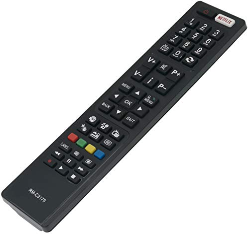 rnbedienung Ersetzte für JVC Smart LCD TV LT-40C750 LT-40C755 LT-40VF53A LT-48VU83A LT-50C750 LT-65VU83A RMC3179 ()