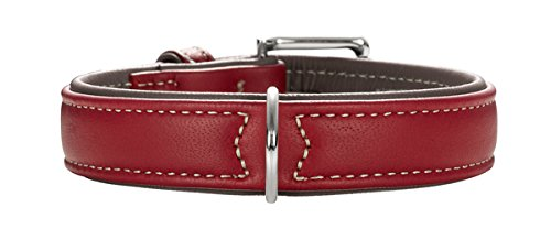 halsband-hunter-canadian-elk-37-43cm-chili-mokka