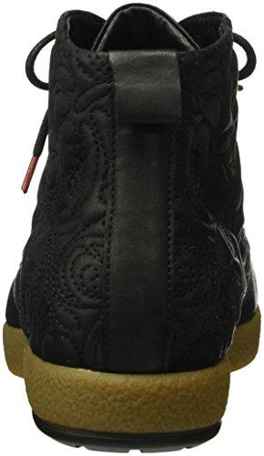 Think! Damen Umadum Desert Boots Schwarz (SCHWARZ 00)