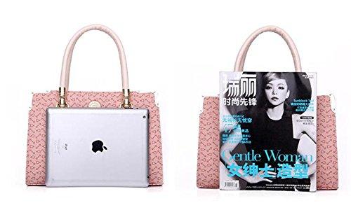 Messenger Dreiteilige Handtasche Blue GSHGA Schultertasche Handtaschen Pink Mobile Neue W54fIq
