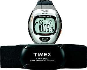 Timex - T5K735HE - Health & Fitness - Montre Sport Homme - Bracelet Résine - Moniteur de fréquence cardiaque numérique