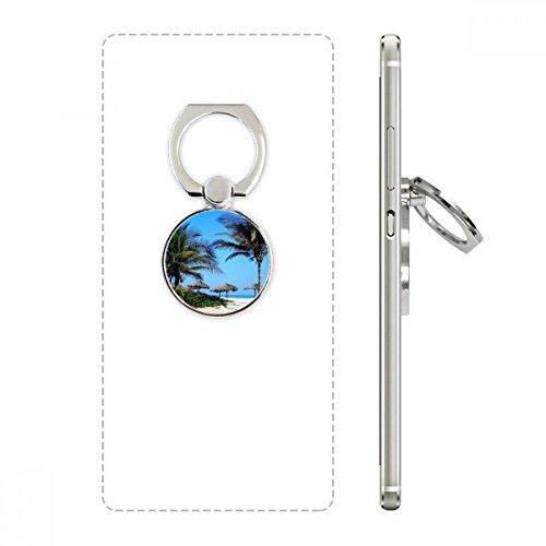 DIYthinker Ozean-Baum-Blauer Himmel Bild Handy-Ring Ständer Halter Halterung Universal-Smartphones Unterstützung Geschenk Mehrfarbig