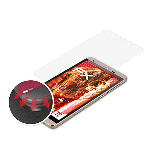 atFolix Schutzfolie passend für Cubot X15 Folie, entspiegelnde & Flexible FX Bildschirmschutzfolie (3X)