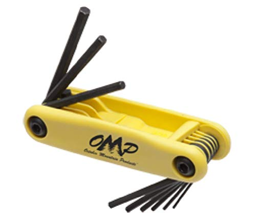 OMP Pro-Shop Hex Wrench Set .050-3/16