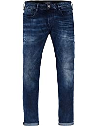 Scotch & Soda Herren Slim Jeans Tye-Blauw Flash