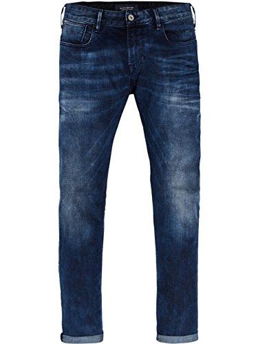 Scotch & Soda Herren Slim Jeans Tye-Blauw Flash Blau (Blauw Flash 1861)