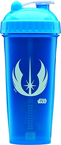 Ultimative Fluid (Star Wars Kollektion Protein Shaker Flasche Mixer Tasse 800ml 100% Offizielles Lizenzprodukt, Jedi)