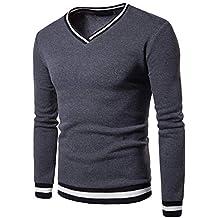 Blusa ZODOF Sudaderas Camiseta Hombres Larga Tops para Hombre Manga con de  Cremallera 5rrqPEw ff10ae0466c