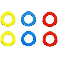 Magura Bremszange Blenden-kit, blau, neonrot, Neongelb, 6 Stück
