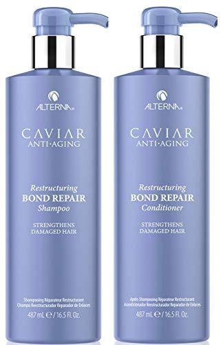 Alterna Caviar Repair Instant Recovery Shampoo und Conditioner, 2 x 488 ml