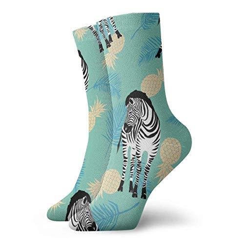Love girl Mens Womens Crew Socks Zebra Tiermuster Mode Neuheit Dry Athletic Socks Strümpfe 30cm