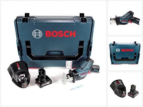 Preisvergleich Produktbild Bosch GSA 12V-14 Li-Ion Professional Akku Säbelsäge in L-Boxx + 1 x GBA 12 V 4,0 Ah Akku + 1 x GAL 1230 Ladegerät